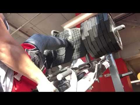 Leg Press - Personal best