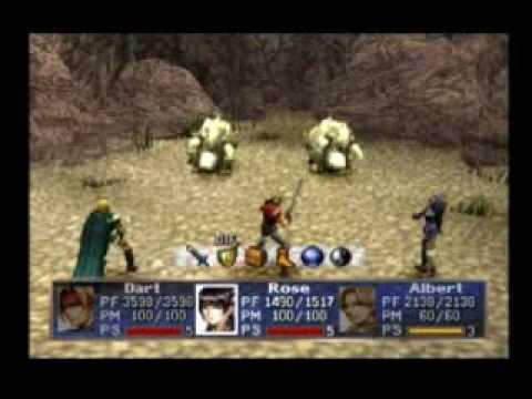Legend of the dragoon gameplay
