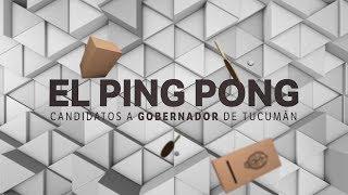 Ping pong de preguntas a los candidatos a gobernador de Tucumán - Parte 2