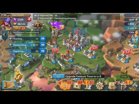 Lords Mobile - Reducing Losses In Attacking And Defending