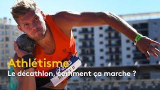 Mondiaux d'athlétisme : Le décathlon, comment ça marche ?