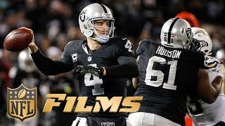 Derek Carr Mic'd Up for Raiders OT Win (Week 16) | Chargers vs. Oakland | NFL Films