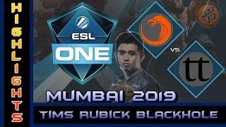 Tims Rubick Blackhole Winning Moments / TNC vs Team Team / Dota 2