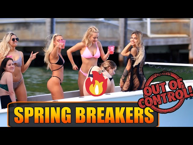 SPRING BREAKERS OUT OF CONTROL | IT'S ONLY GOING TO GET MORE CRAZY #32 | BOAT ZONE