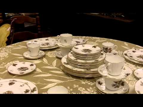 Royal Worcester China Set From Our Antiques Mall.
