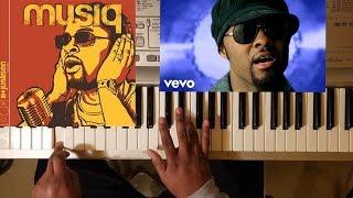 Musiq Soulchild HALFCRAZY PIANO TUTORIAL B MINOR D MAJOR.mp3