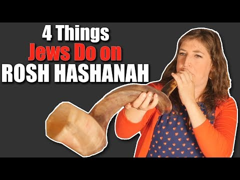 4 Things Jews Do on Rosh Hashanah