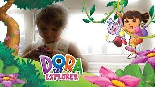 Новая серия Даша-следопыт Сюрприз Даша Путешественница 🏫 Dora the Explorer Surprise Egg Toys