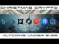 Top Penny  Altcoins Under A Dollar - Holiday Cryptocurrency Edition