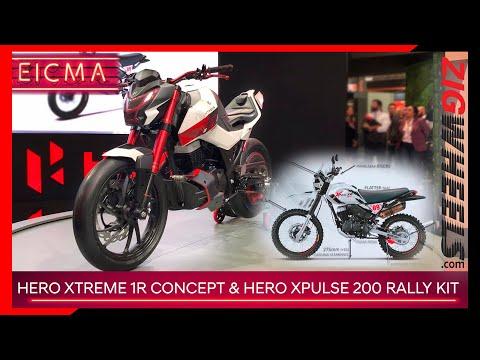 Hero XPulse 200 Rally Kit   Xtreme 1.R Concept   Making X More Extreme   EICMA 2019
