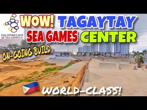 WOW! TAGAYTAY! WORLD-CLASS SEA GAMES VENUE, MALAPIT na MAGAWA?? SEA GAMES PHILIPPINES UPDATE
