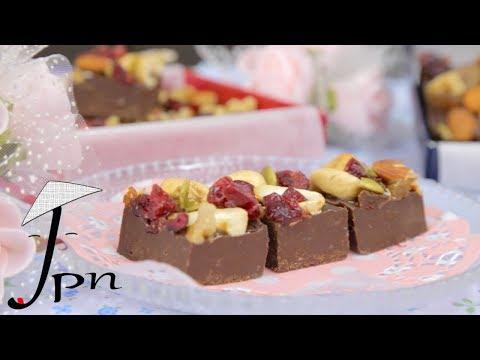 RECEITA DE FUDGE DE CHOCOLATE - ESPECIAL VALENTINE'S DAY