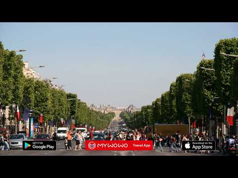 Champs Elysees – First Part – Paris – Audio Guide – MyWoWo  Travel App