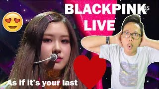 Baixar BLACKPINK - AS IF IT'S YOUR LAST LIVE INKIGAYO ( MY BABY ROSE!! )