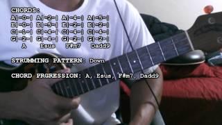 Justin Bieber - Mistletoe (Chords Tutorial) (Ukulele)