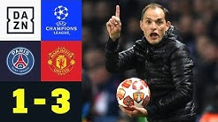 Last-Minute-Elfer! Thomas Tuchel raus: Paris Saint-Germain-Manchester United 1:3 | Champions League