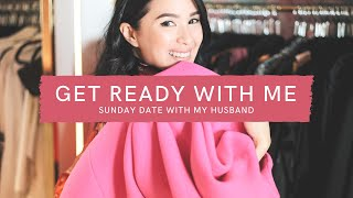 GET READY WITH ME - SUNDAY DATE WITH MY HUSBAND EDITION | Heart Evangelista