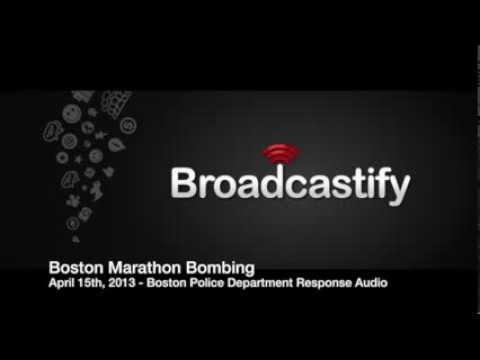 4/15/2013 - Boston Marathon Bombing Police Response Audio