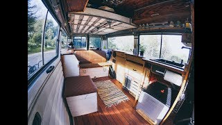 Roomtour Mercedes MB100 Vanconversion