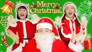 메리 크리스마스 산타할아버지 대신에 선물을 나눠줬어요!Santa Claus Deliver Christmas present for kids - 마슈토이 Mashu ToysReview