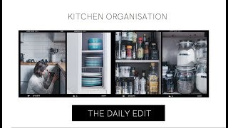 Kitchen Tour & Organisation Tips | THE DAILY EDIT | The Anna Edit