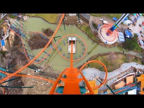 Yukon Striker Roller Coaster! REAL POV! Front Seat On Ride View! Canada's Wonderland 2019