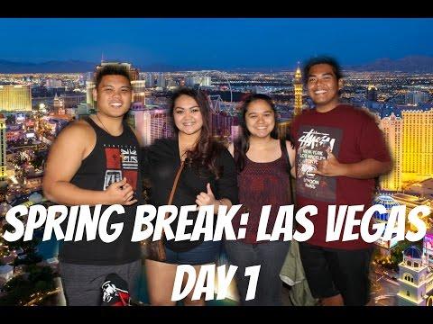 Spring Break: Las Vegas Part 1Vlog #8 [March 1921]
