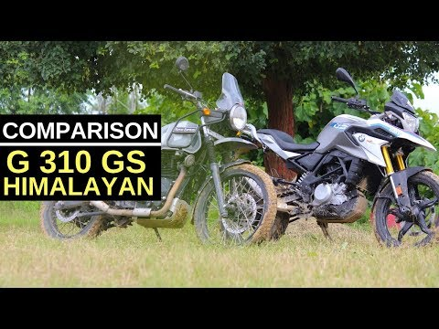 Royal Enfield Himalayan vs BMW G 310 GS : Exclusive Comparison