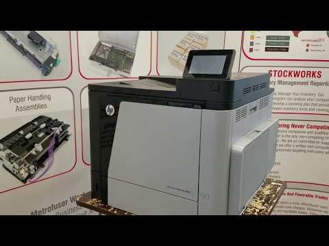 HP CM4540 CP4025 CP4525 M651 M680 Fuser Maintenance Kit Installation CE246A CC493-67911