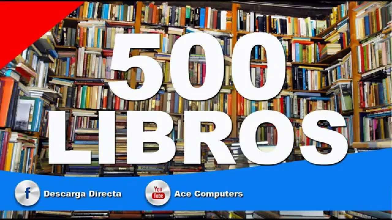 Descargar 500 LIBROS PDF Y WORD MEGABIBLIOTECA 2015 MEGA 1