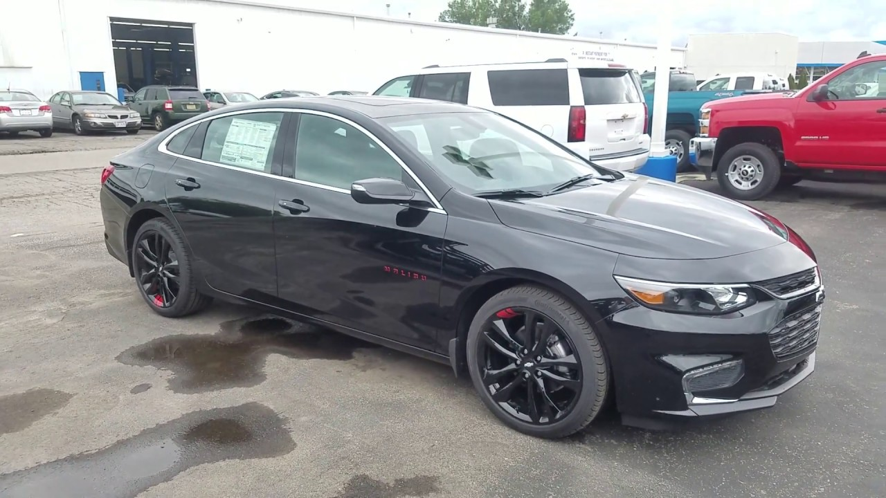 2018 Chevrolet Malibu LT REDLINE EDITION - Full Review ...