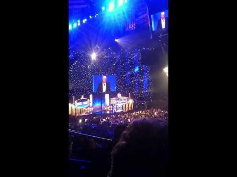 Donald Trump Celebrity Inductee HOF 2013