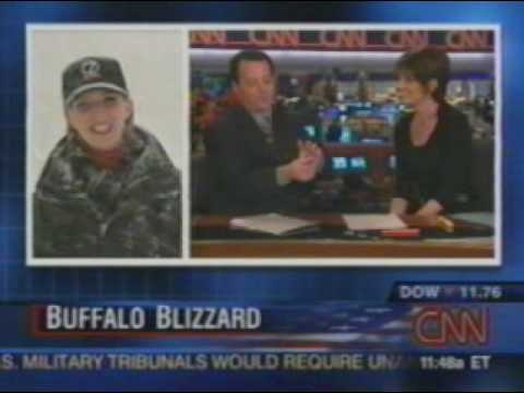 Buffalo Snow CNN; Stacey Frey, Daryn Kagan, Chad Myers 12/28/2001