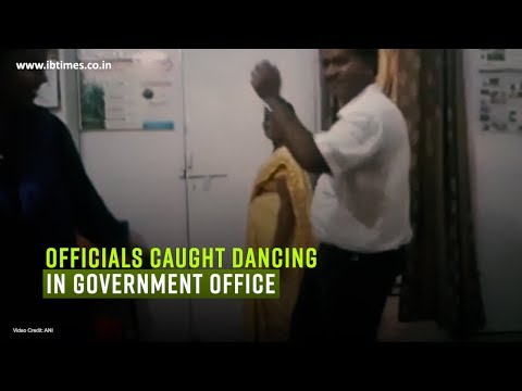 Caught on Cam: Officials caught dancing in government office