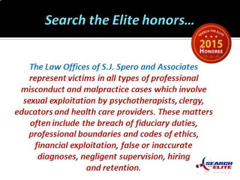 Stanley J. Spero Named a Top Professional Misconduct Attorney in Boston, MA
