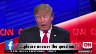 Donald Trump - Clown Master vs The Newsroom, weeding out the clowns