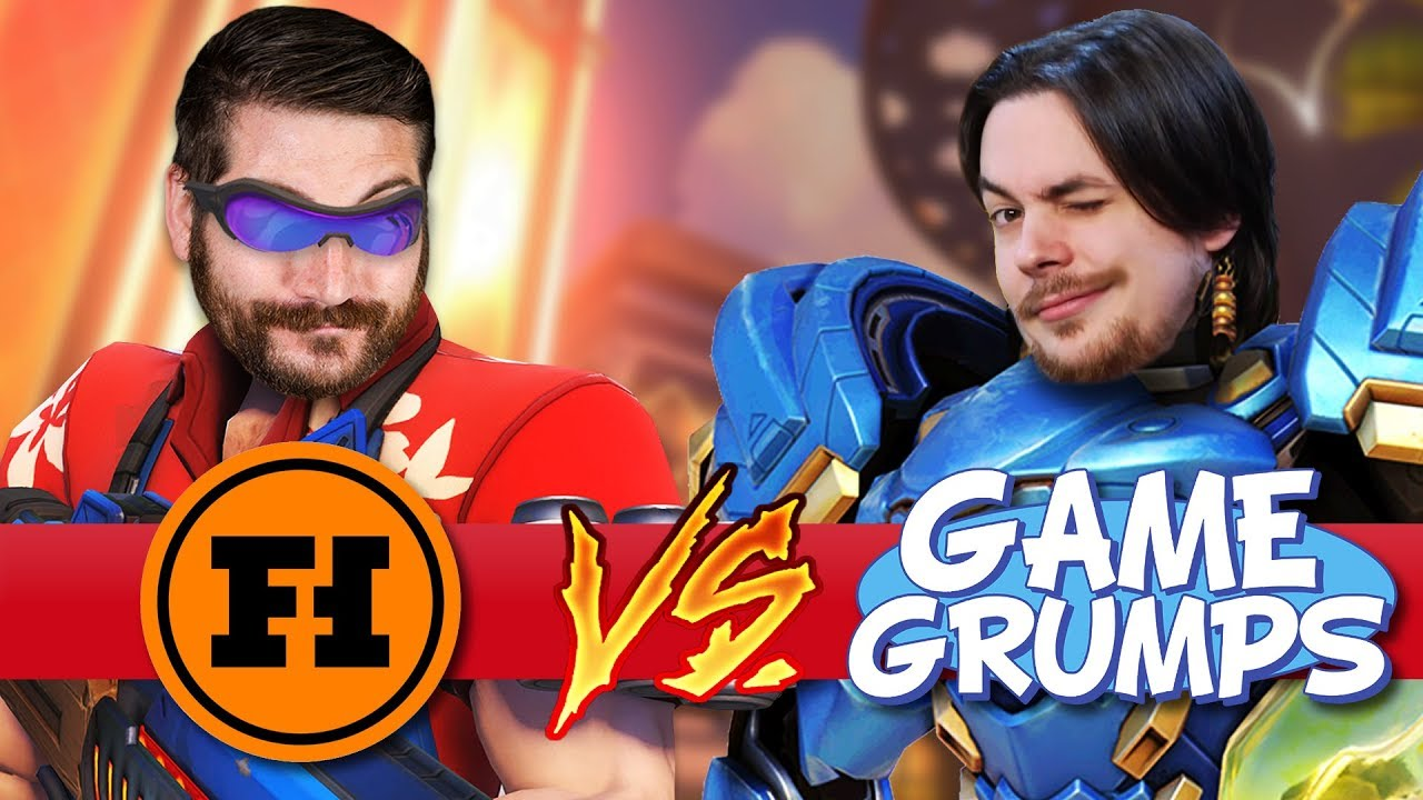 FUNHAUS VS GAME GRUMPS: VENGEANCE – Overwatch Gameplay