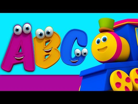 บ๊อบรถไฟ   bob เพลงตัวอักษร   ตัวอักษรสำหรับเด็ก   Bob Train Song   Learn Alphabets   ABC Song
