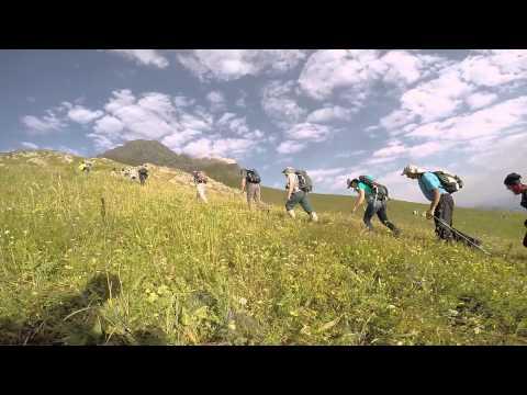 Climbing mount Khustup 3201m, Kapan, Armenia (GoPro) HD