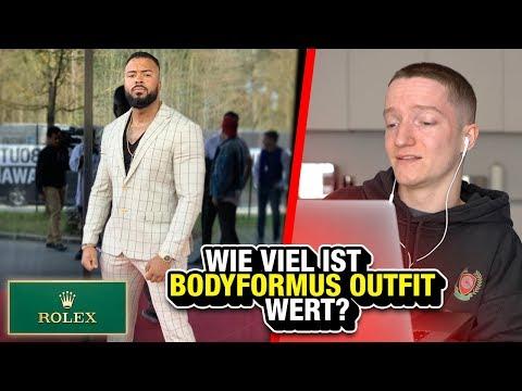 Bodyformus im 15.000€ Outfit.. (Meine Reaktion)