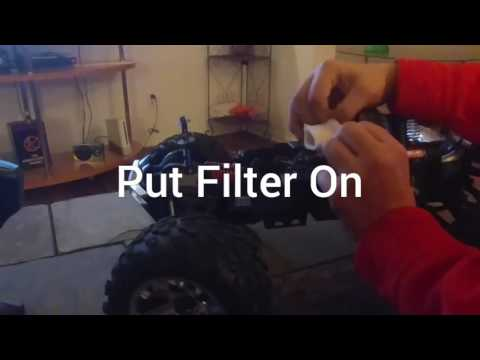 How to clean a Traxxas Revo 3.3 Airfilter | PART 2