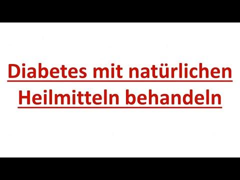Diabetes mit natürlichen Heilmitteln behandeln