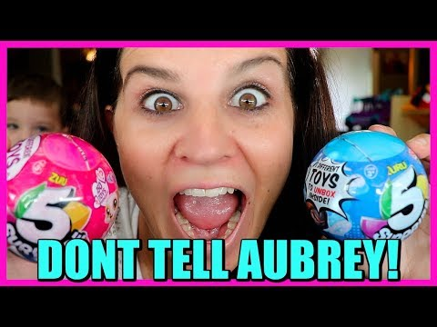 Mom Steals 5 Surprises TOYS!! Opening 5 Surprise Ball Mystery Toys