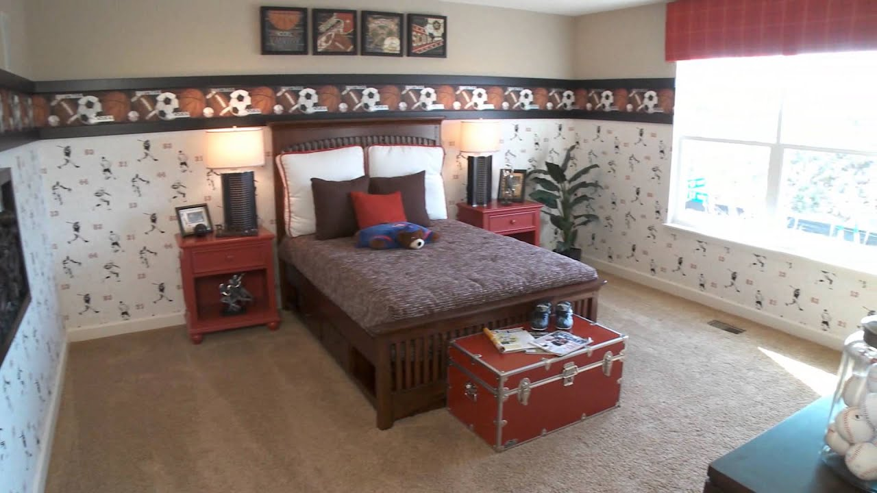 Bedroom design ideas for boys rooms by for Bedroom ideas for 3 beds