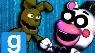 PLUSHTRAP TRIES TO SURVIVE HIS BABYSITTERS!! || Garry's Mod || GMod Stories #4 || FNAF