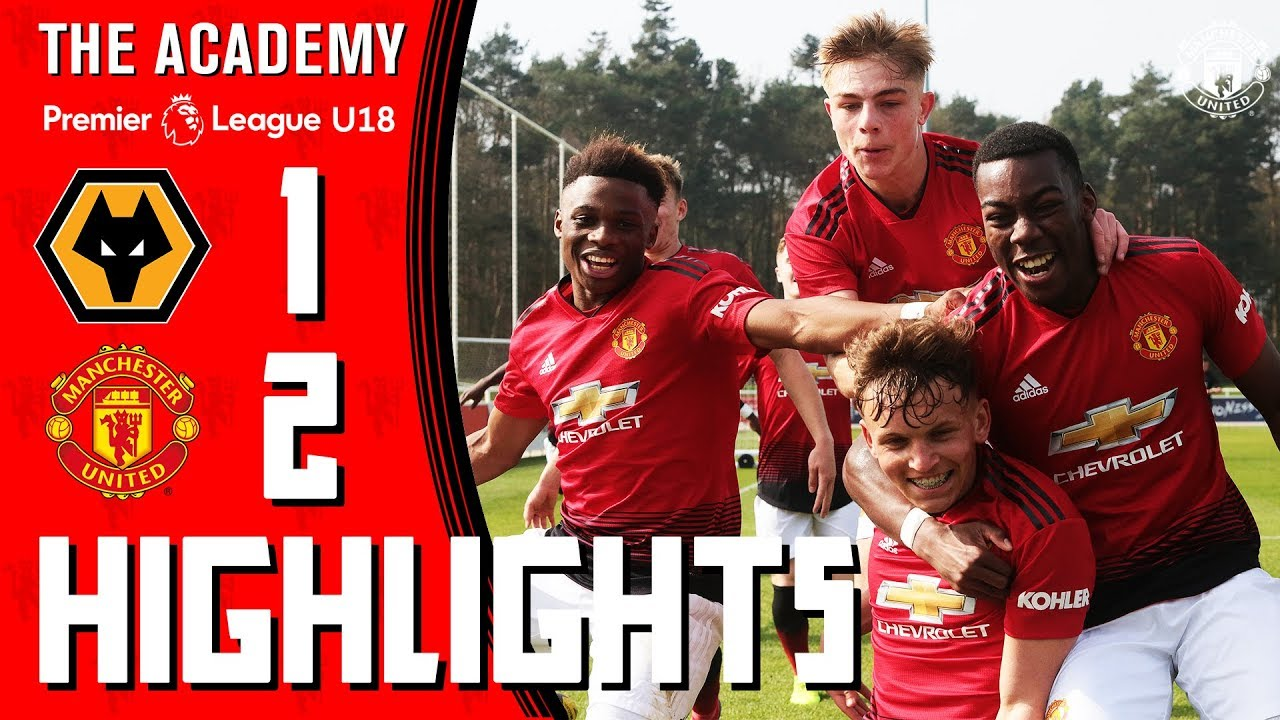 U18 Highlights | Wolves 1-2 Manchester United | The Academy - YouTube