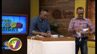 TVJ Smile Jamaica: Saran Wrap Challenge - Something to Smile About - November 22 2019