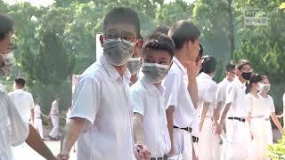 Publication Date: 2019-09-09 | Video Title: 迦密柏雨中學校友到警署投訴 不滿學生被捕時遭警棍打 2019