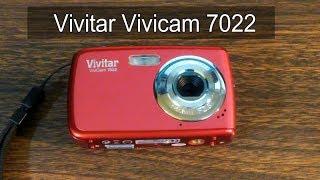 Vivitar Vivicam 7022 Digital Camera. Tear Down