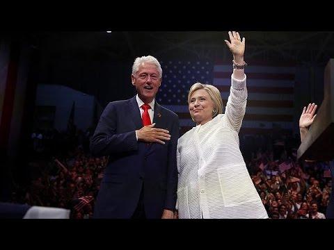 Hillary será la primera candidata mujer a la presidencia